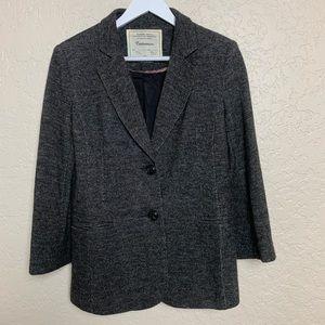 Anthropolgie Cartonnier Tweed Blazer
